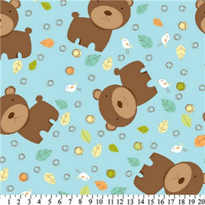 Anti-Pill Fun The Bear Fleece F1268