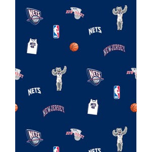 Anti-Pill New Jersey Nets Fleece F313