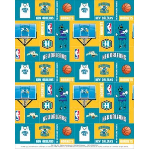 Anti-Pill New Orleans Hornets Fleece F314