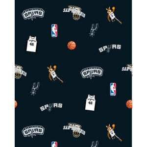 Anti-Pill San Antonio Spurs Fleece F328