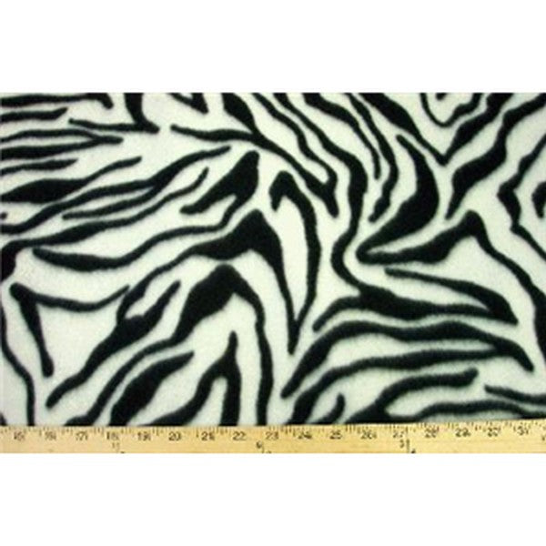 Anti-Pill Zebra Fleece F1050
