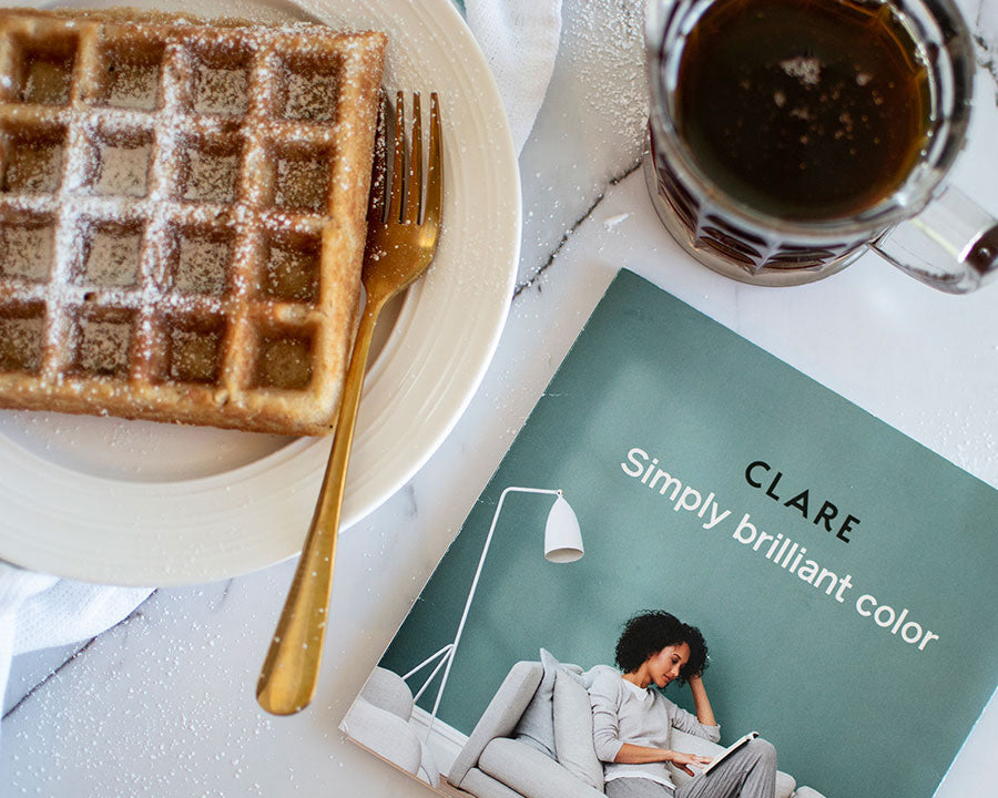 These homemade waffles are an amazing fall treat. Try them this weekend — get the recipe here!
