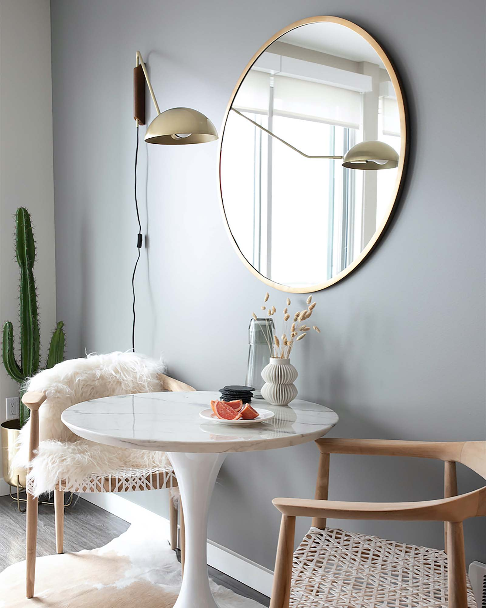 Seize the Gray by Clare - the best neutral gray paint color with no undertones!