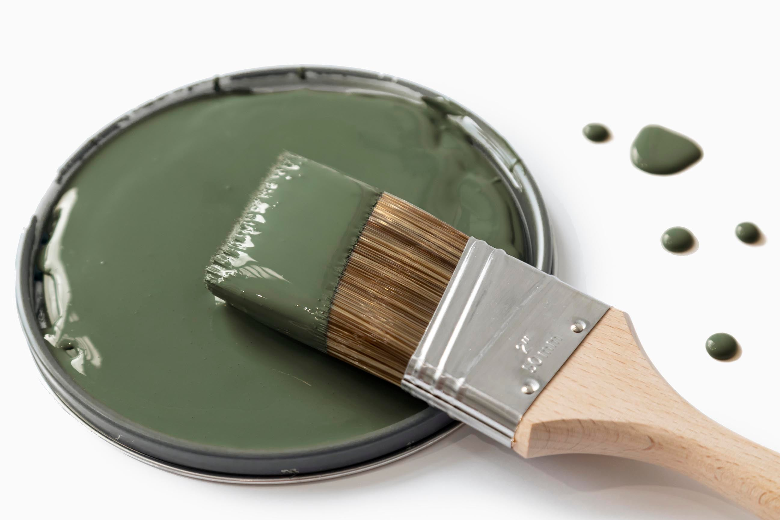 Meet Daily Greens, the newest green paint shade from Clare. Get your daily fix with this mossy, olive green paint color that's the secret to a well-balanced space.