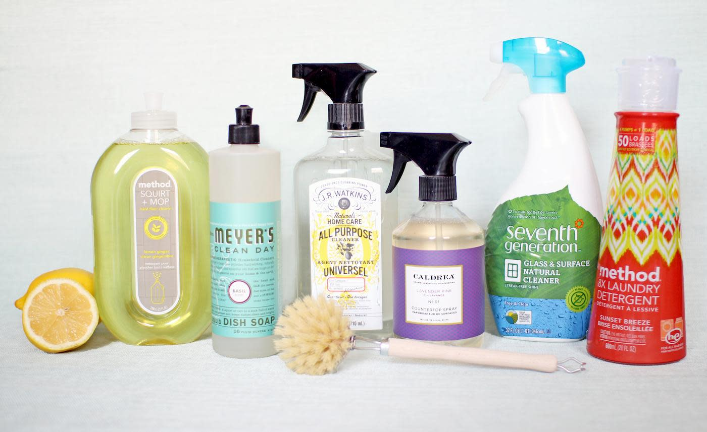 Healthier Home Cleaning Products Clare Paint 2