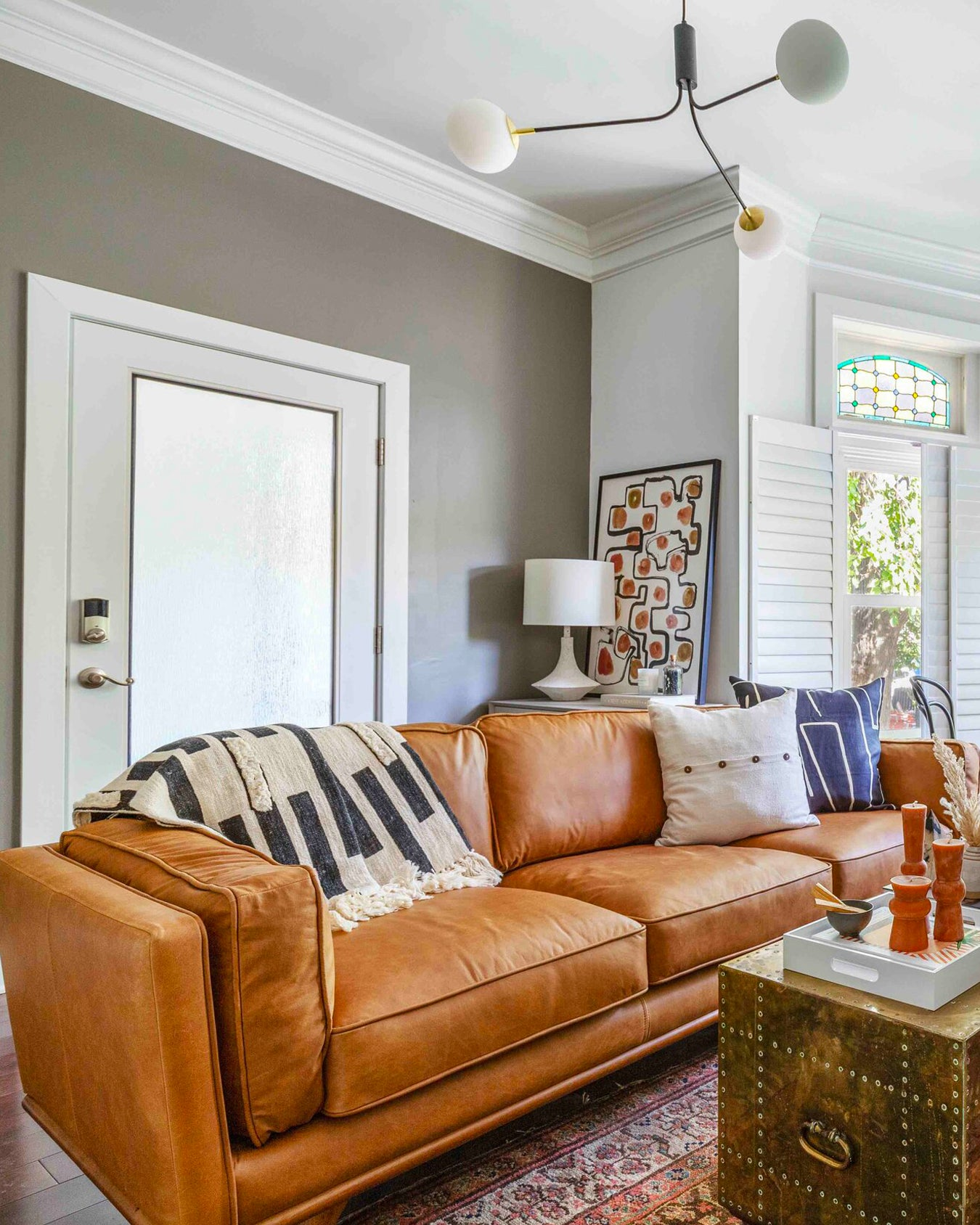 Searching for the perfect greige paint color? This perfect grieve hue is Shade by Clare. Discover more perfect griege paint colors.