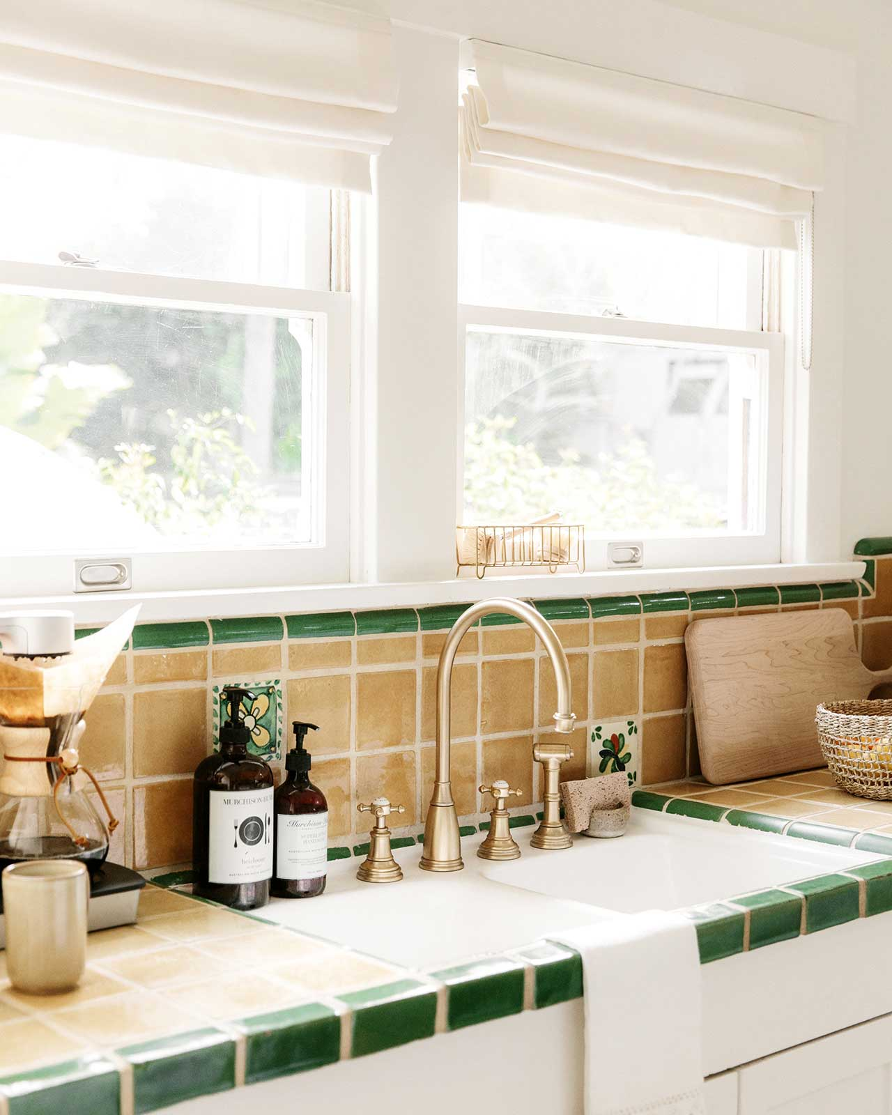 Tour inside a light & airy beach bungalow painted in whipped - the perfect warm white from Clare