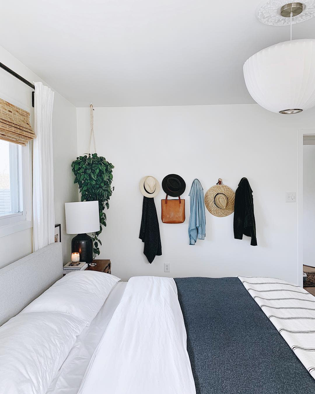 Serious inspiration for all-white walls ahead! See inside a stunning all-white abode for a lesson in how to make white paint work in every room in your home.