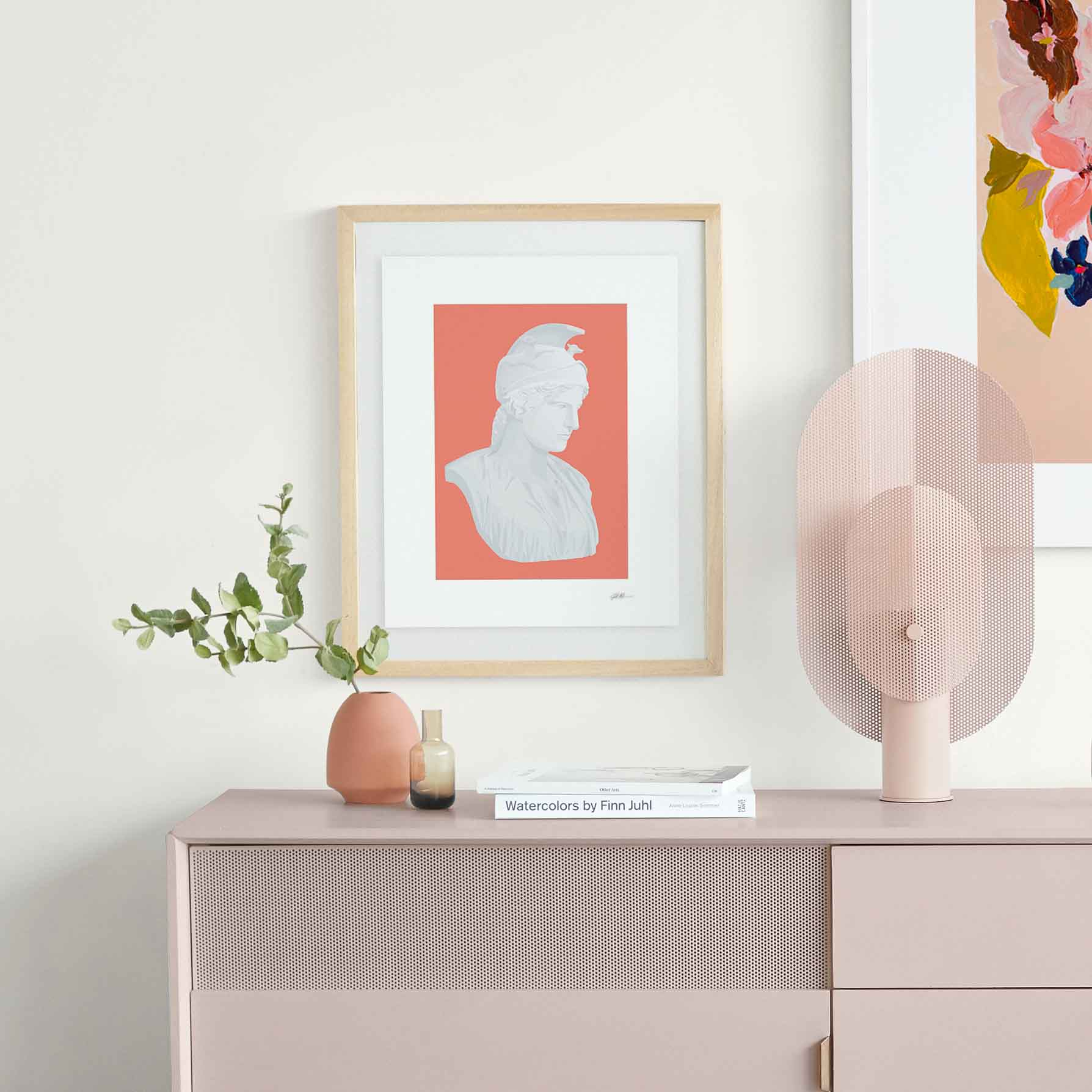 Tips to make working from Home more productive. Incorporate beautiful wall decor to keep you inspired