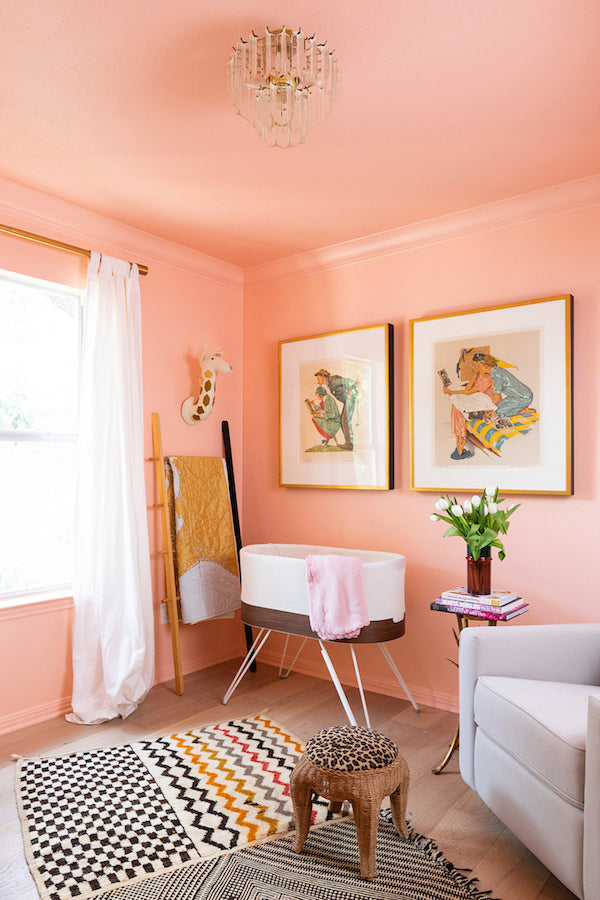 Rooms with pink walls