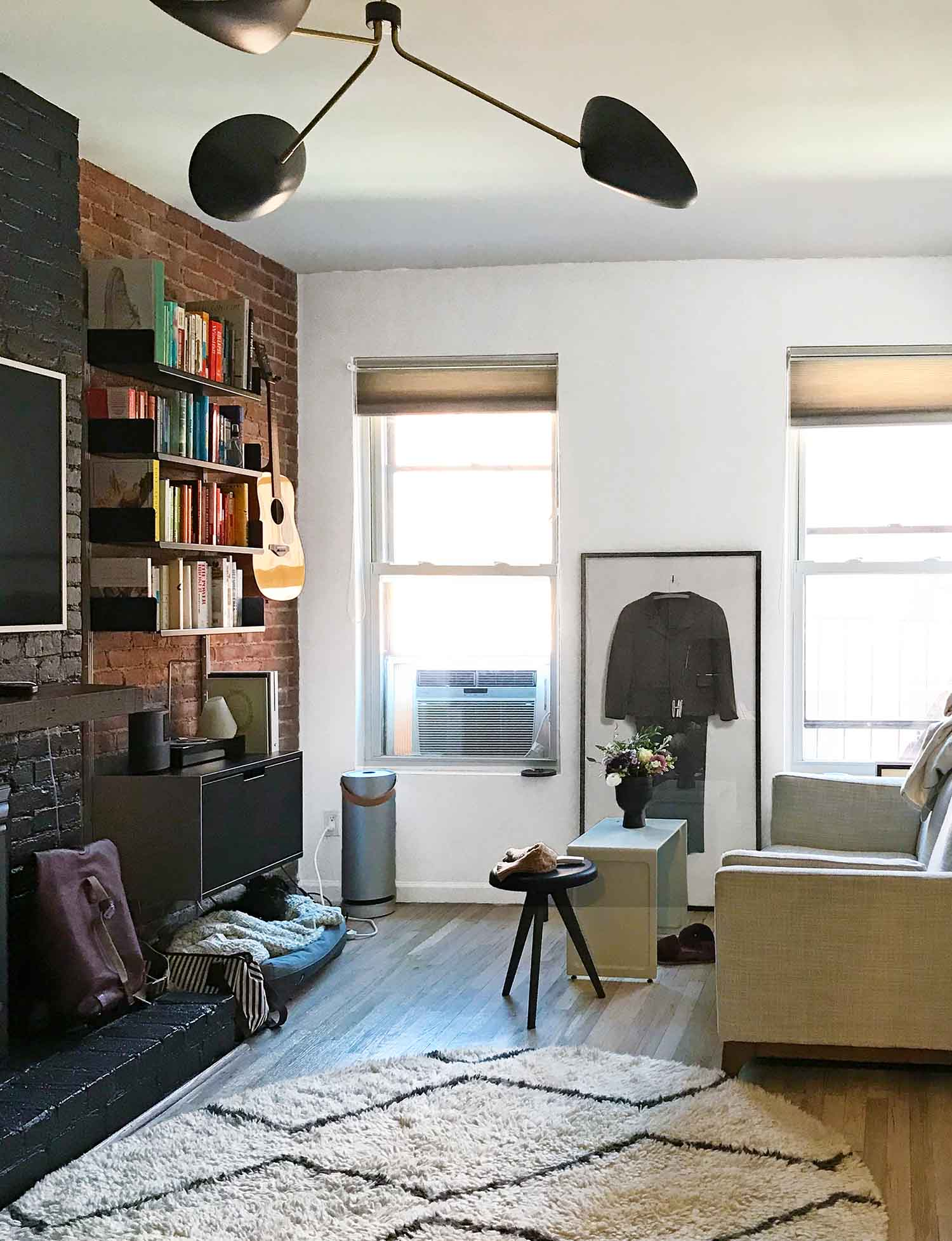 If you're painting a small space, check out these 5 tips for painting a small, city apartment from an NYC Style Editor!