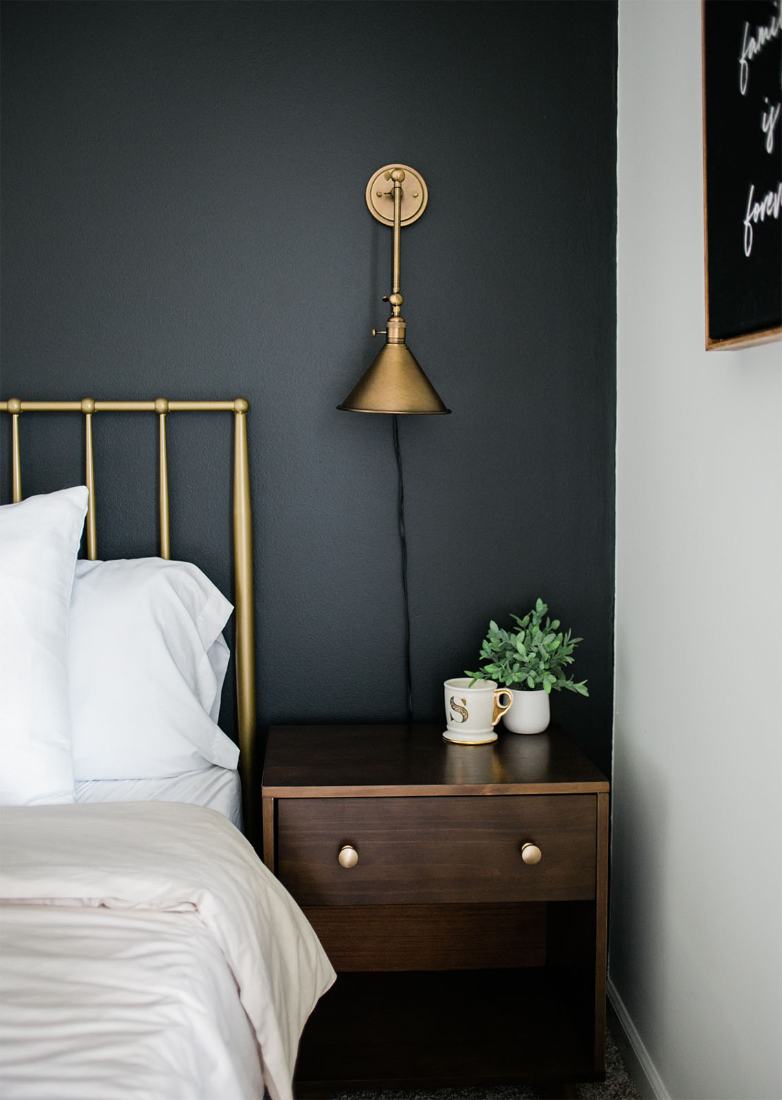 Black Accent Wall Inspiration