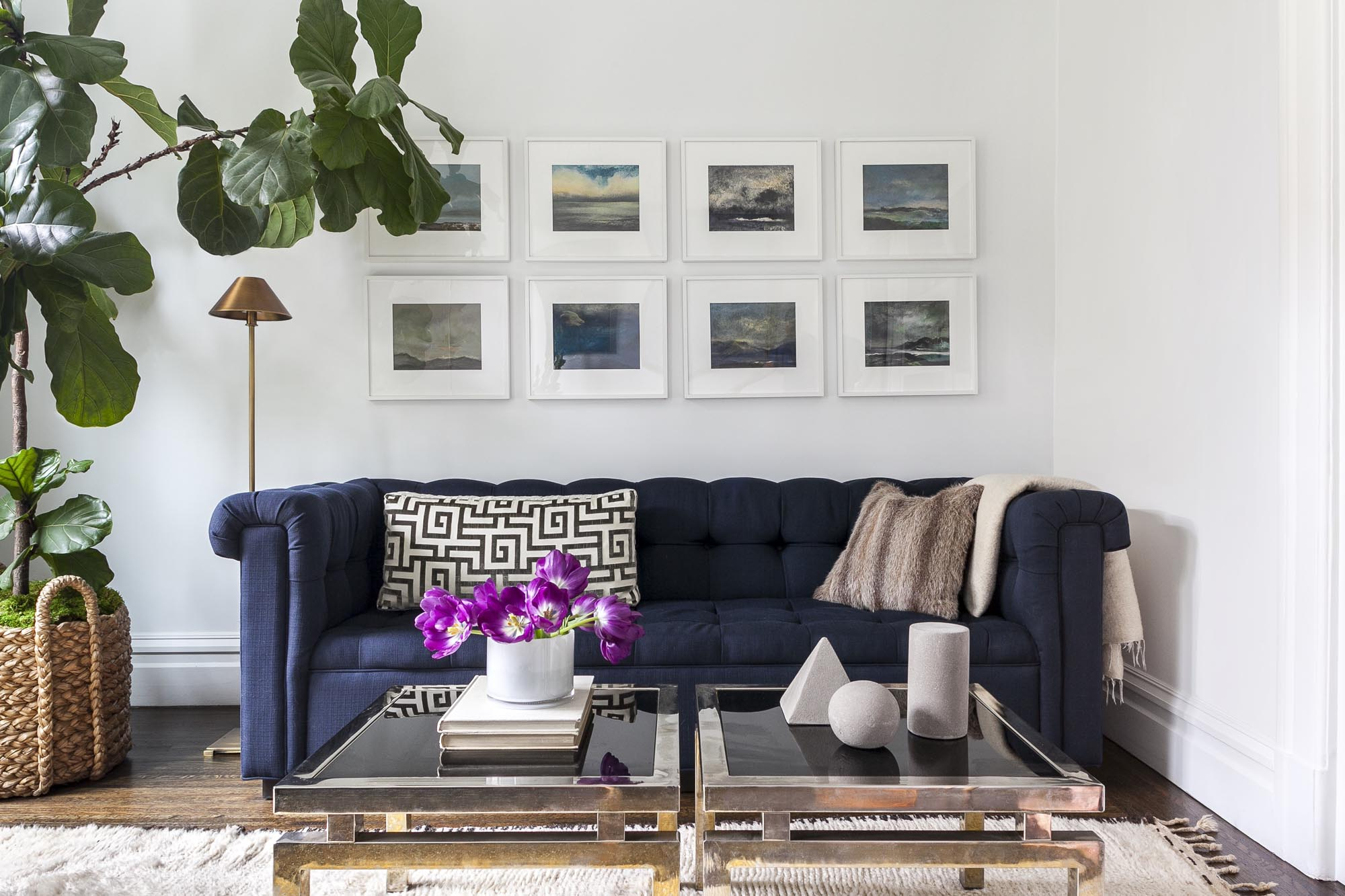 Interior designer Grant K. Gibson shares his best advice on the art of curation.