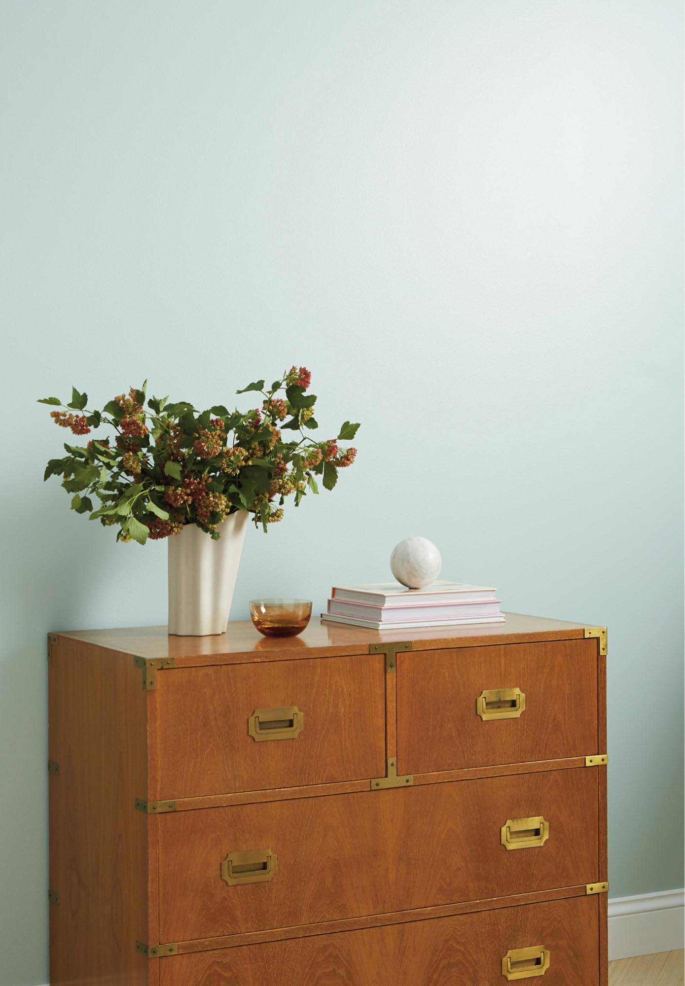 Read three ways to think outside of the box and using spring paint colors to warm things up throughout the fall.