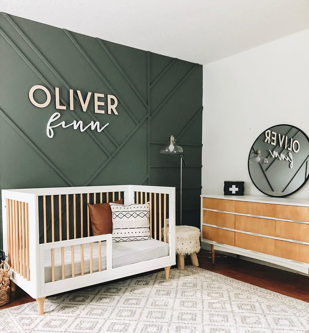 Painting a Baby's Room Inspiration