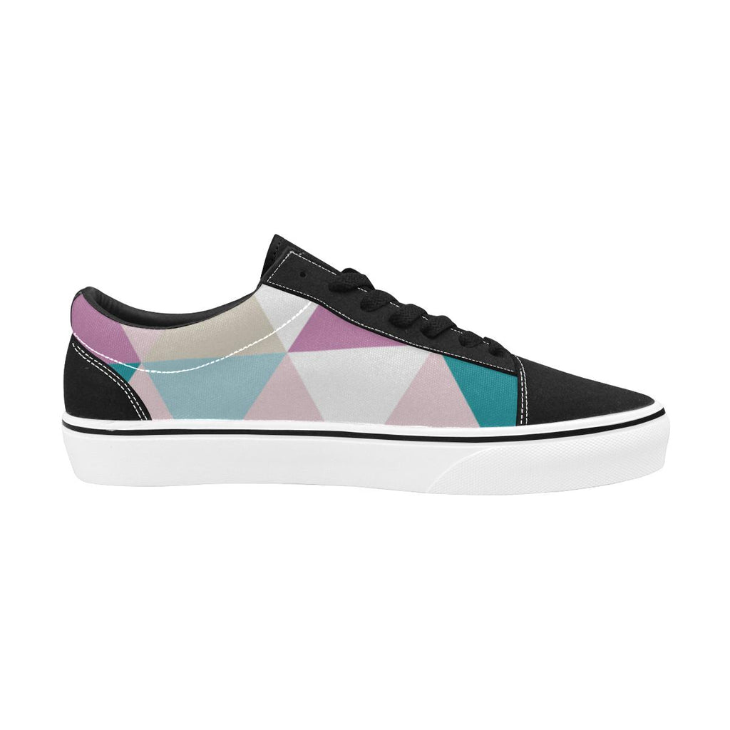 Triangle Women's Lace-Up Wakerlook Canvas Shoes