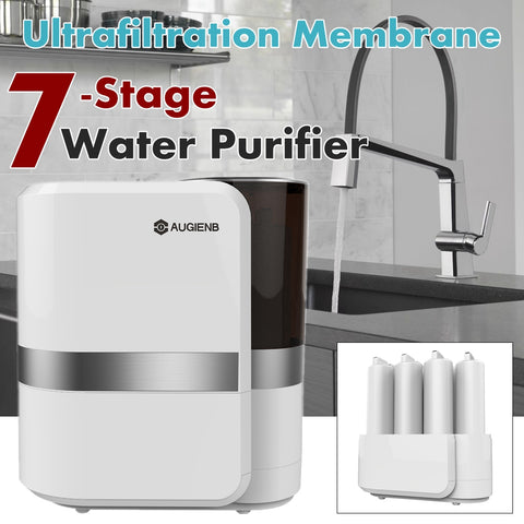 7 Stage Reverse Osmosis Water Filtration System