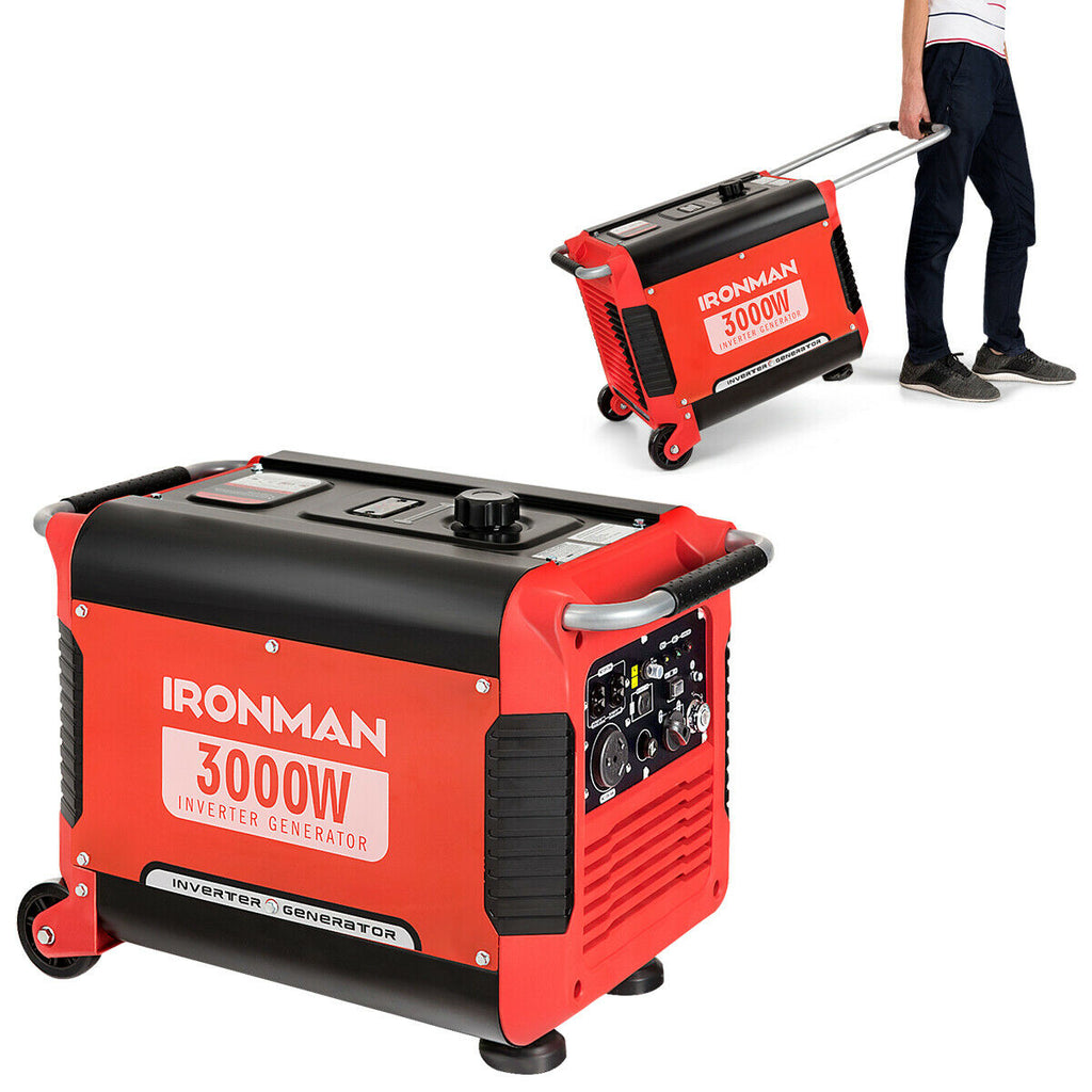 IRONMAN 3000W Portable Inverter Gasoline Generator