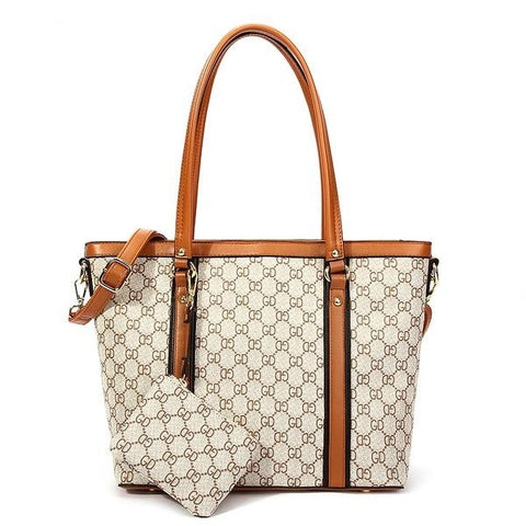 Designer Long Handle Tote Bag