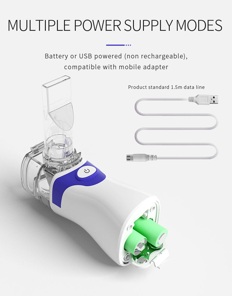 Portable Ultrasonic Mini Nebulizer