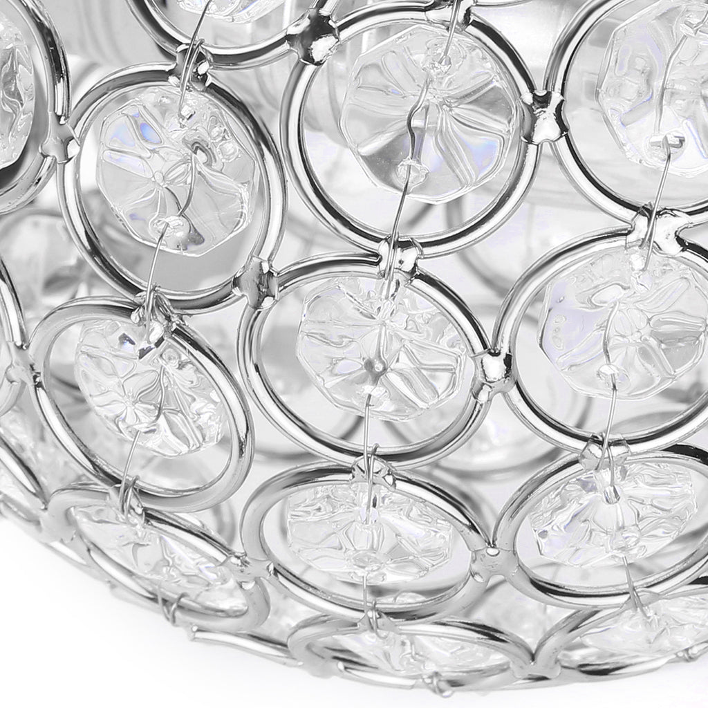 Modern Crystal Pendant Wall Light