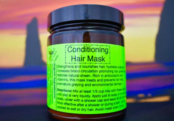 Organic Conditioning Hair Mask