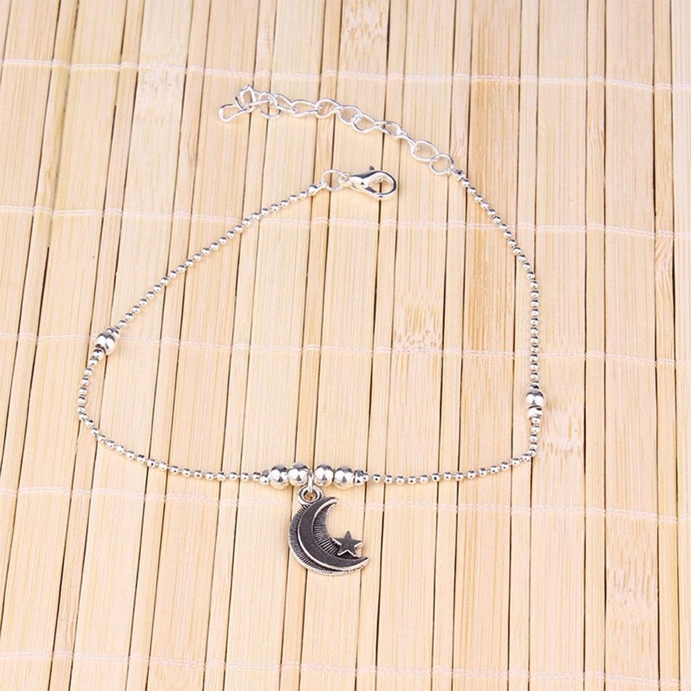 (FREE) Moon and Star Anklet