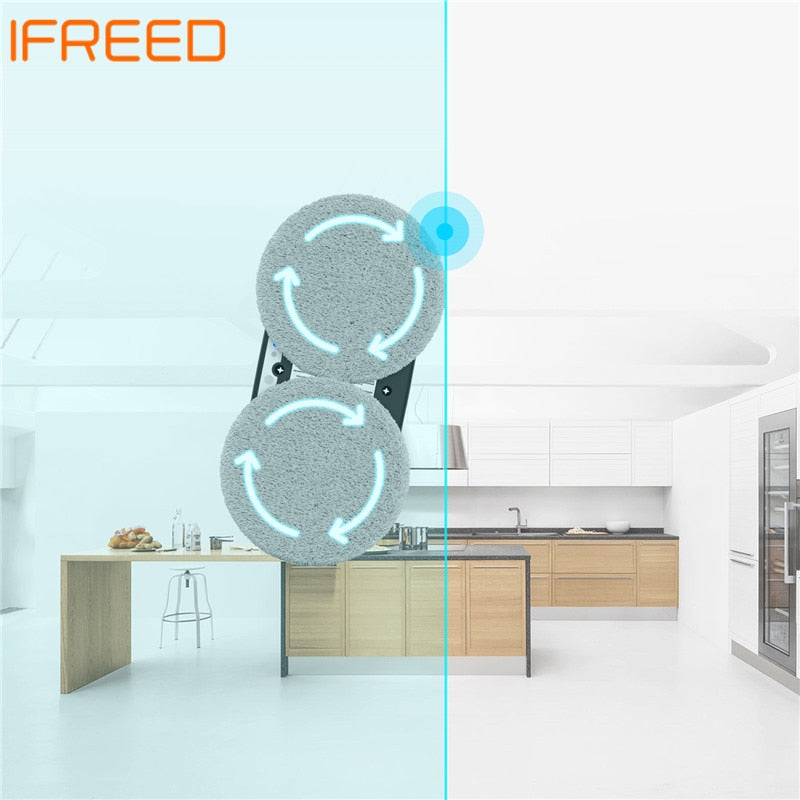 Robot Window Cleaner and Vacuum