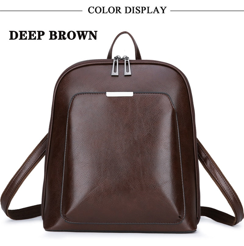 Women's Designer Leather Backpacks