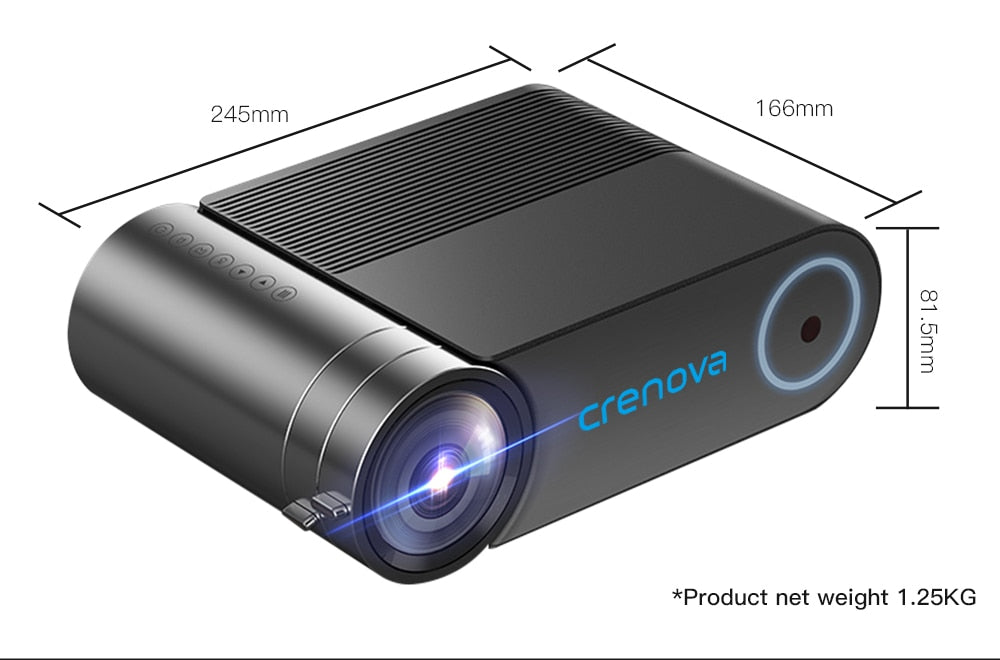 HD 720P LED Projector