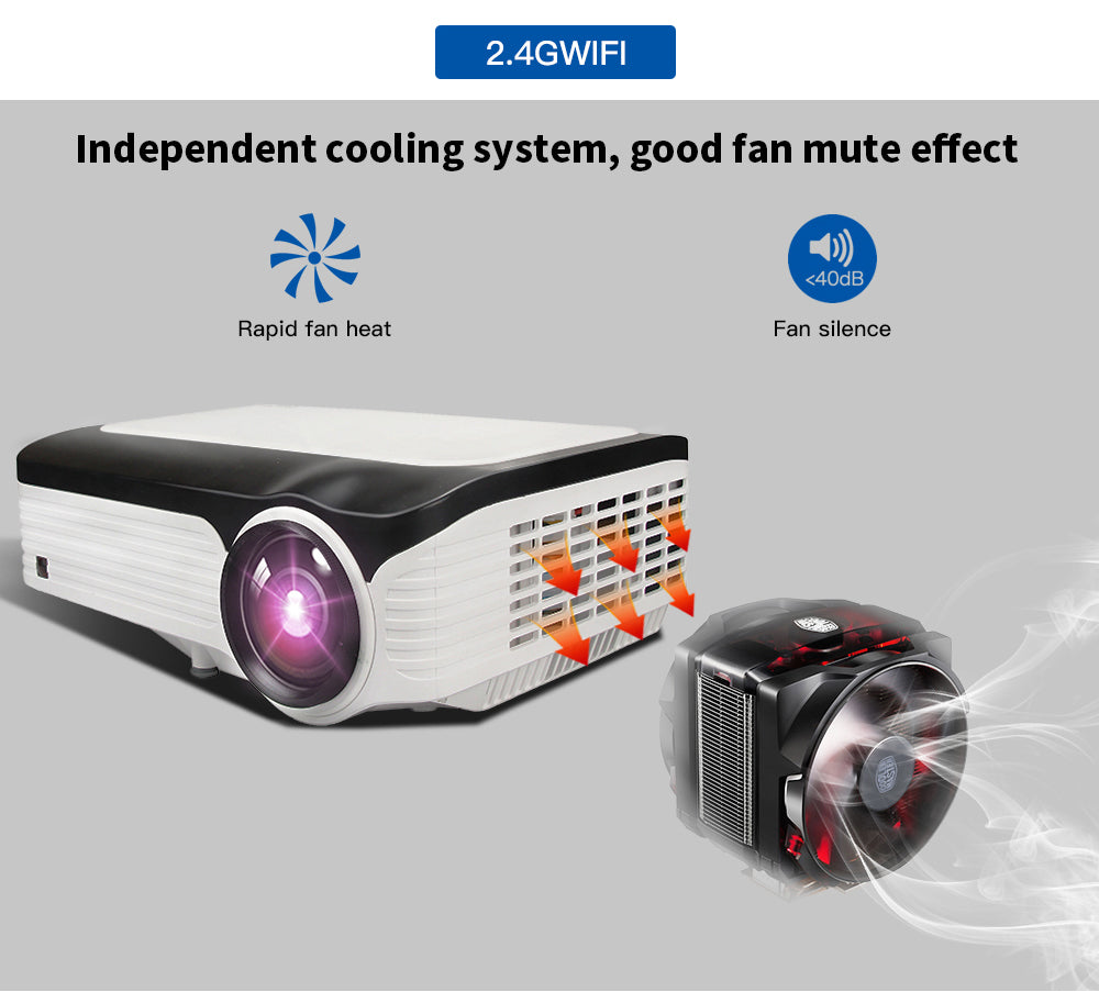 1080p HD Video Projector