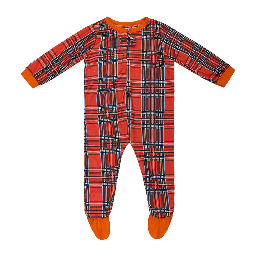 Red Plaid Family Christmas Pajamas