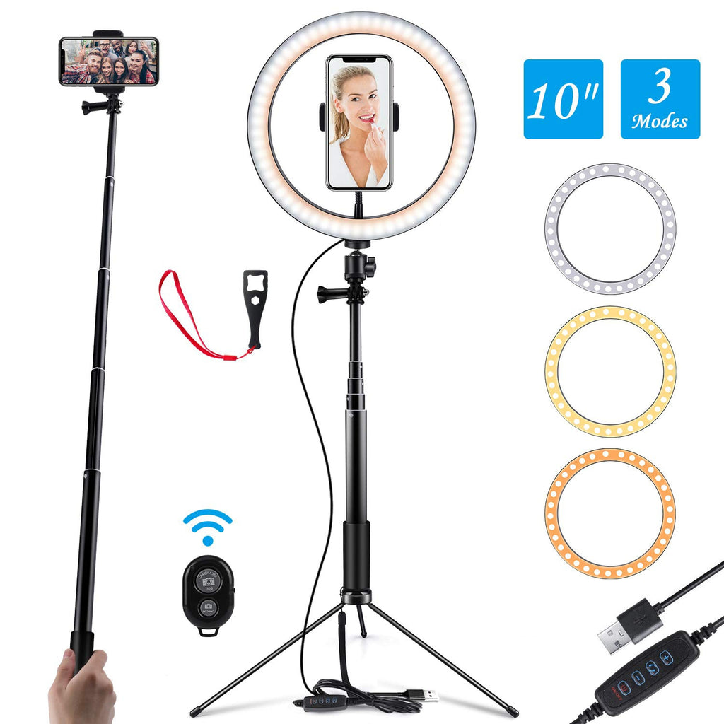 10 Inch LED Selfie Light