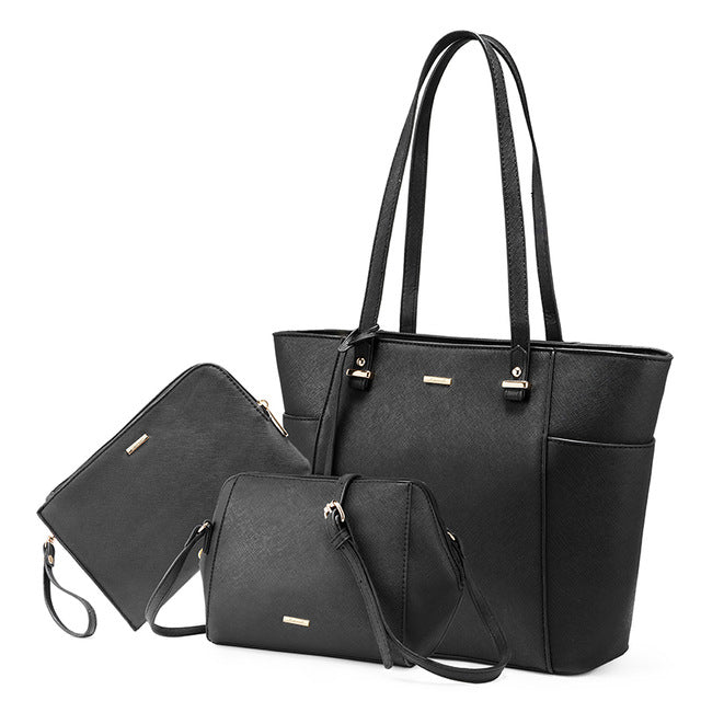 3 Piece Designer Shoulder Bag Set