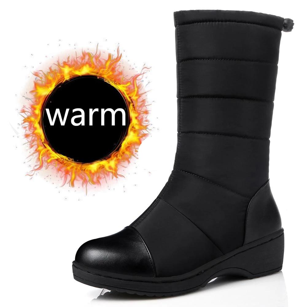 Women's Waterproof Plush Boots