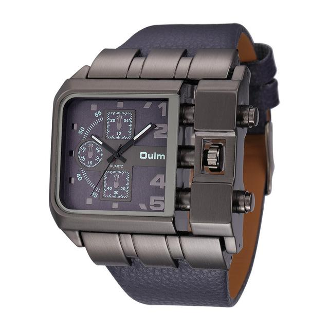 Unique Mens Quartz Wristwatch