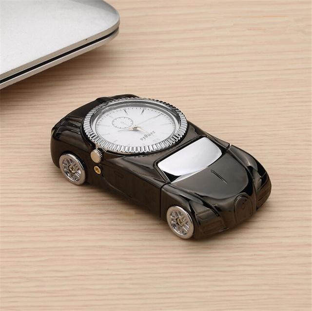 Car Shaped Watch and Cigarette Lighter