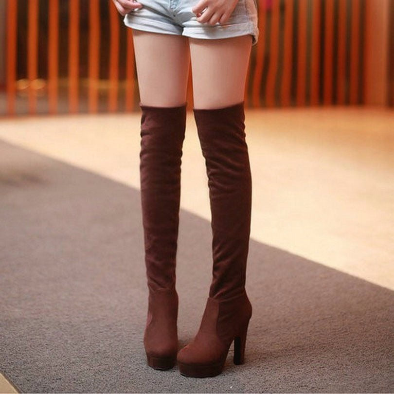 Thigh High Platform Shoes