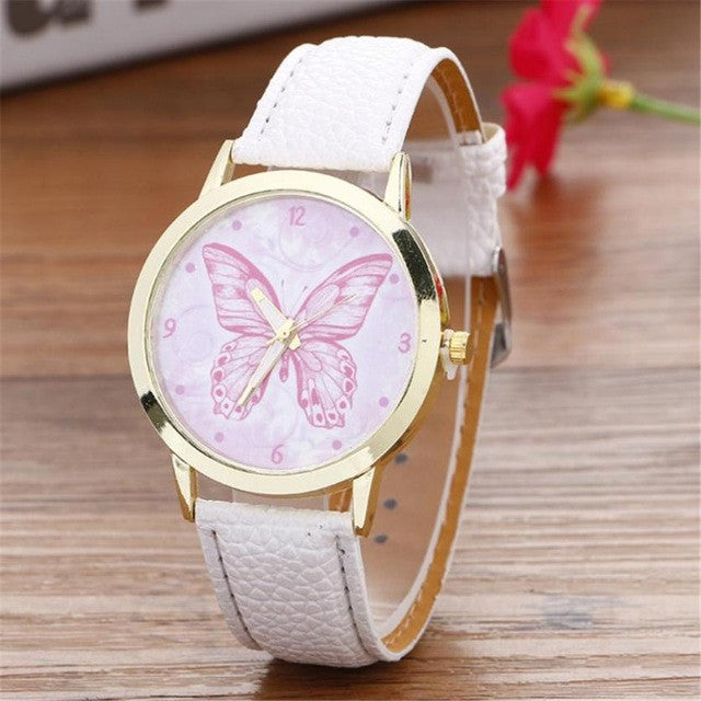 Women's Butterfly Quartz Watch