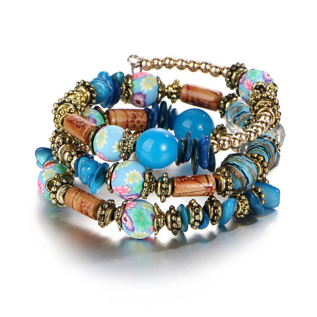 Beads and Crystals Bracelets