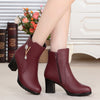 Genuine Leather Ankle Boots