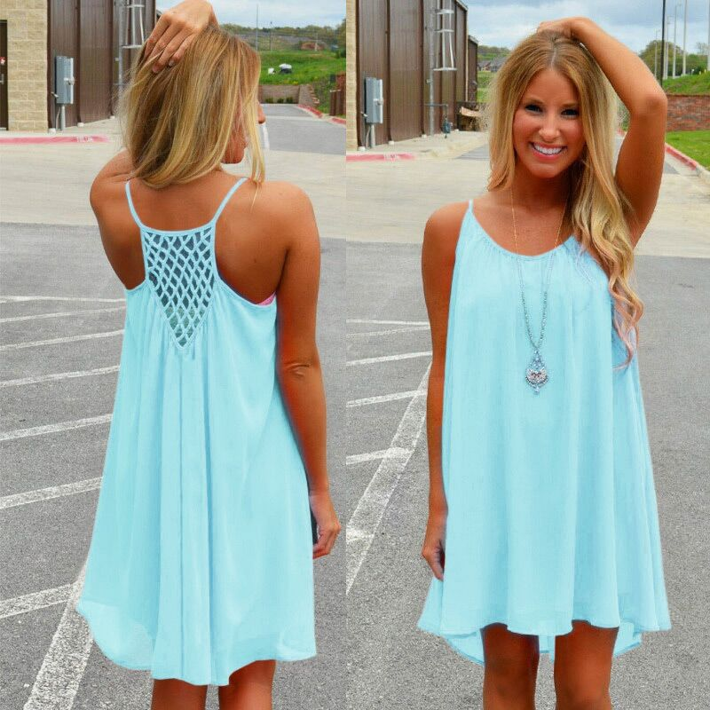 Pastel Color Summer Dresses