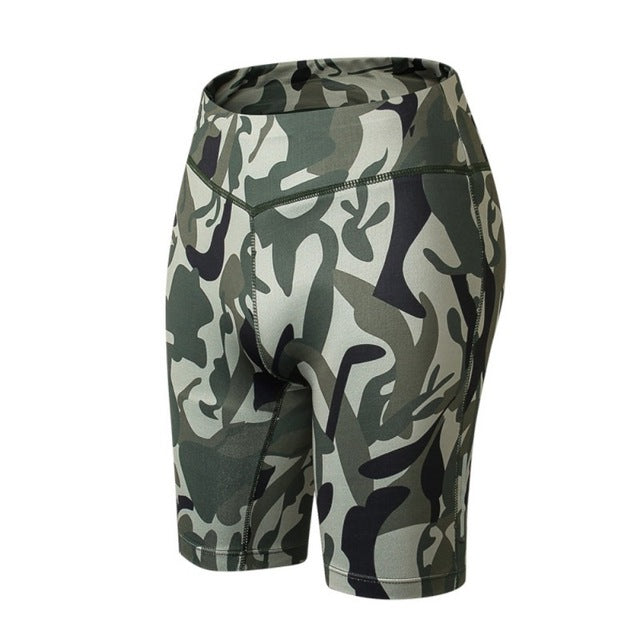 Compression Fit Reflective Shorts