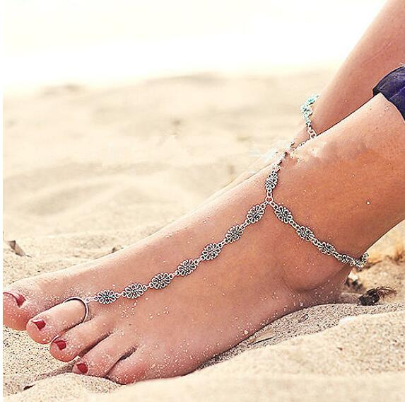 Assorted Chain Anklets