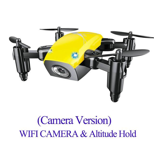 Foldable RC Mini Pocket Drone with Camera