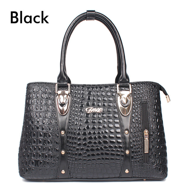 Alligator Skin Tote Bag