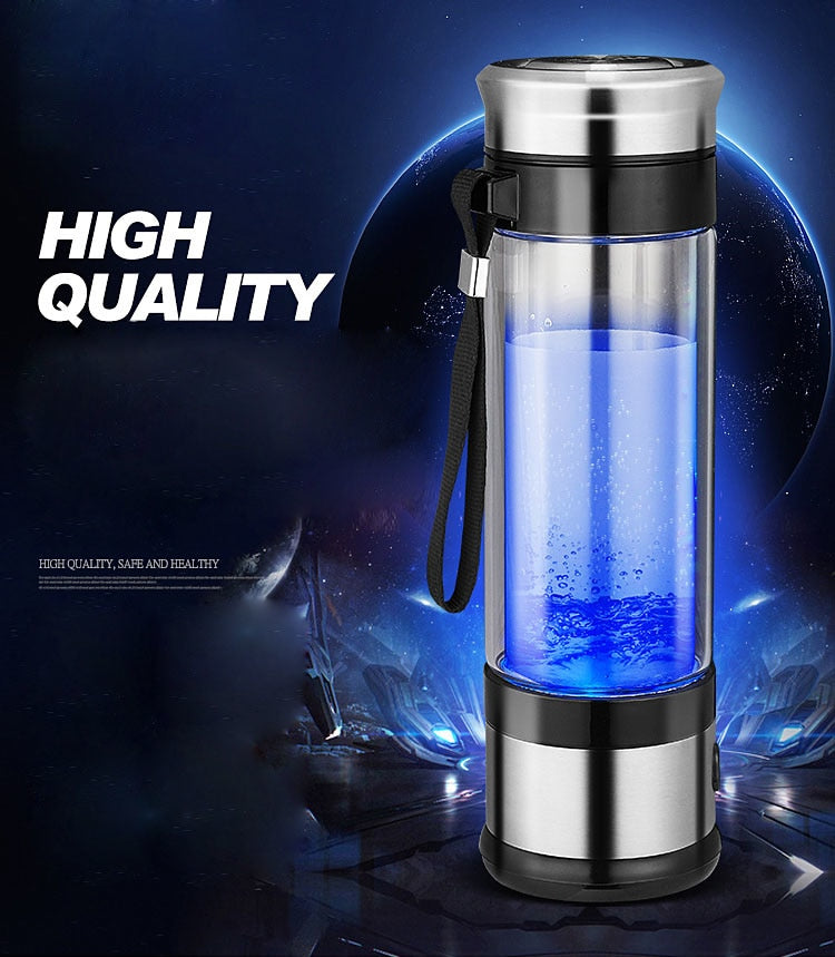 350ml Portable Hydrogen Rich Water Ionizer