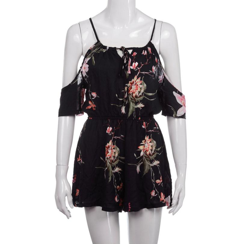 Women's Floral Playsuits