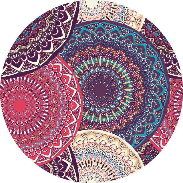 Bohemian Flower Beach Towels