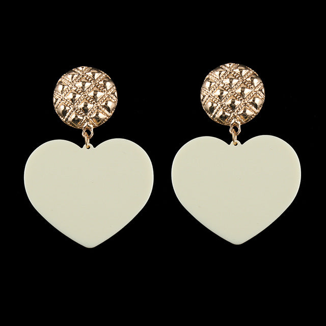 Big Heart Earrings